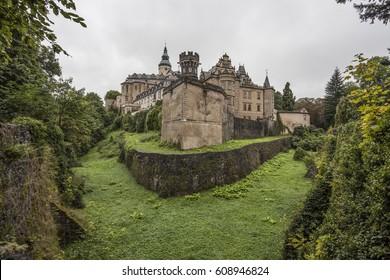 Frydlant castle panorama, Slovakia