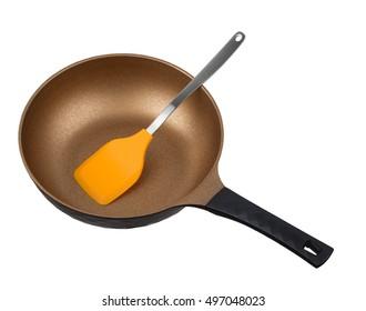 frying pan isolated