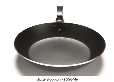 frying pan, isolated on white