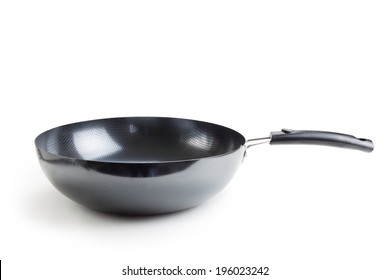 Frying pan,isolated on white background.