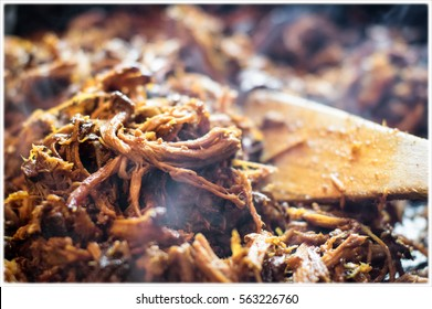 Frying the Pulled Pork