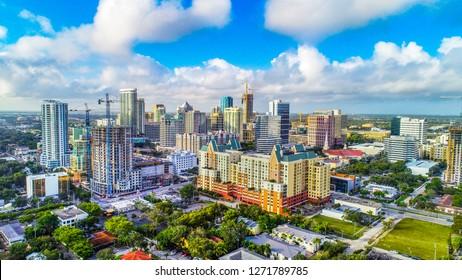 Ft Lauderdale, Florida, USA Skyline