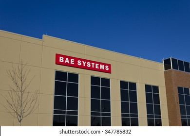 Ft. Wayne, IN - Circa December 2015: BAE Systems Manufacturing Facility. BAE Provides Advanced Aerospace Solutions I