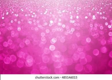 Fuchsia magenta and hot pink glitter sparkle background or confetti party invitation