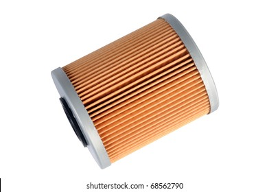 an fuel filter, auto spare part, clipping path