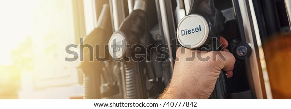 fuel gas at a Gas station