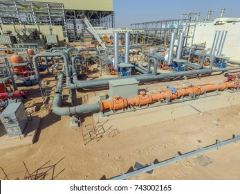 Fuel Gas Supply Yard Constructiom