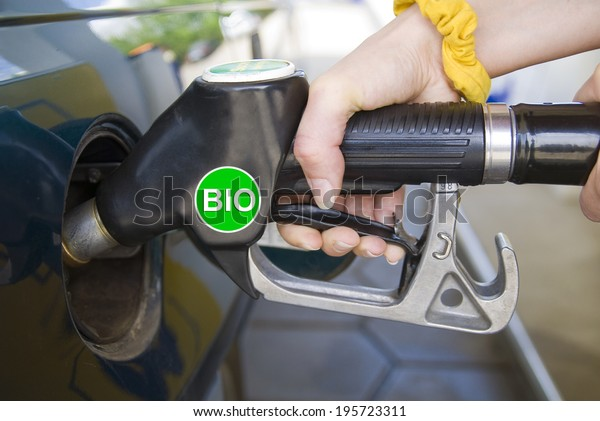fuel nozzle with biofuel