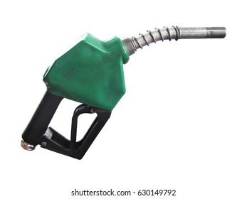 fuel nozzle isolated on white background