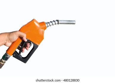 Fuel nozzle On a white background