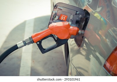 Fuel nozzle vintage color