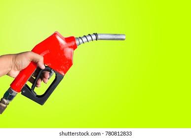 Fuel nozzle,Old nozzle old paint background color