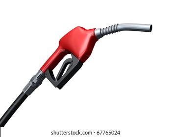 fuel pump (clipping path)