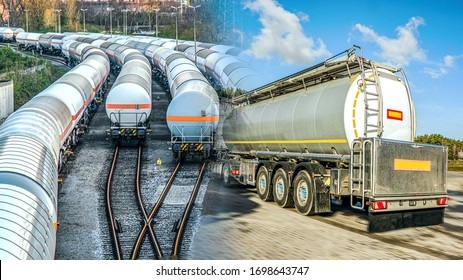 Fuel tankers . Tank for the carriage of liquid and dangerous goods