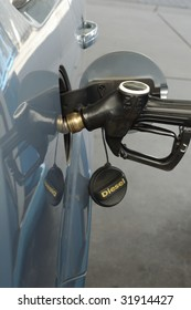Fueling car with diesel