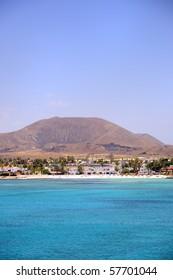 Fuerteventura beach. Canary Island