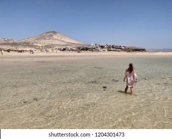 Fuerteventura beach lagoons