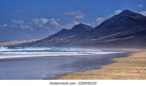 Fuerteventura - Cofete. Canary island. Canarias.