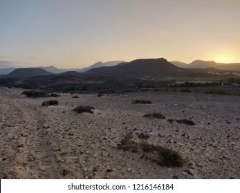 Fuertventura desert nature