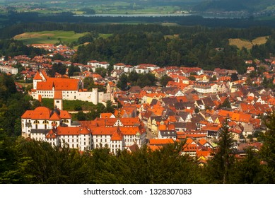 Fuessen Germany panorama