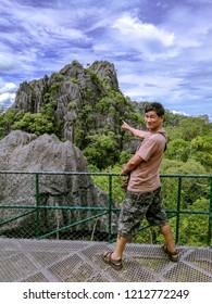 Fuji Loei city tourist attraction of the Loei province are located in Nong Hin District, Loei,Thailand.