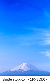 Fuji mountain : Kawaguchiko lake Yamanashi Japan.