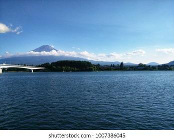 Fuji mountain in my beautiful memory.