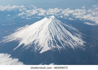 Fuji snow capped