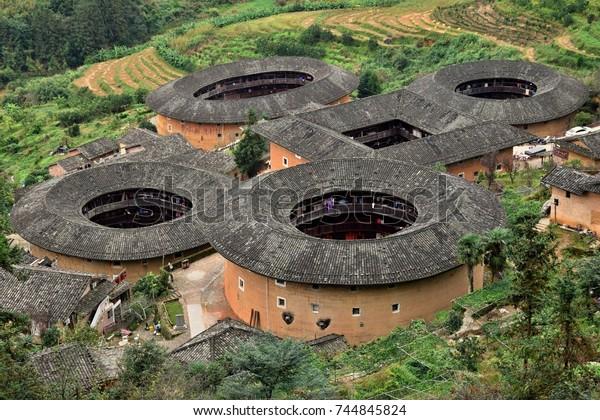 中国の福建省の伯家少数民族に固有の土地である不二庵都郎。