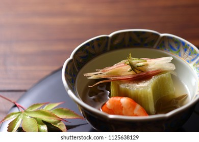 Fuki, simmered with Giant Butterbur