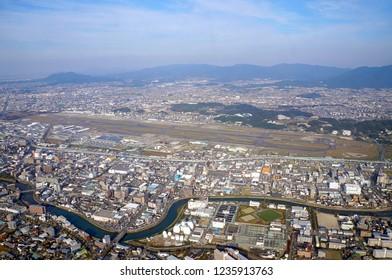 Fukuoka Airport in Fukuoka-city, Japan