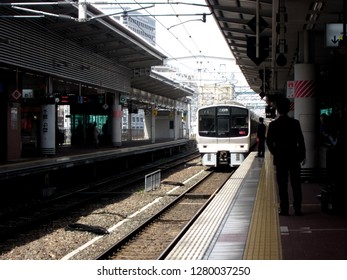 Fukuoka,Kyushu/japan  -April 16 2018:Hakata Station