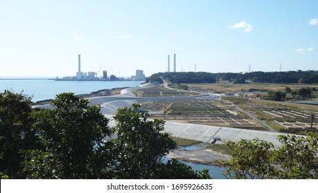 the Fukushima disaster zone in Japan