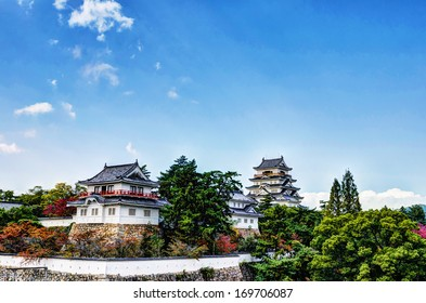 Fukuyama Castle Ninomaru South Side (in Fukuyama City, Hiroshima Prefecture, Japan)