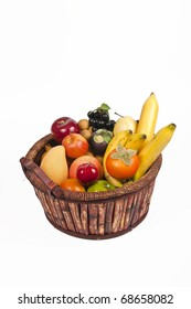 Full basket with Fruits