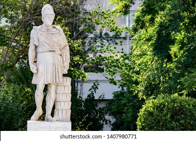 Full body Statue of ancient Greek statesman Pericles
