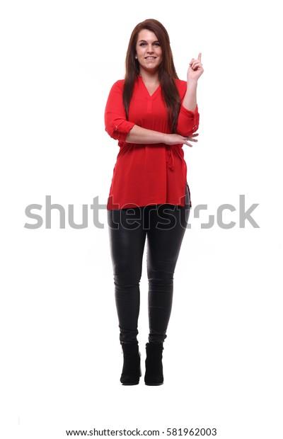 Full body woman
