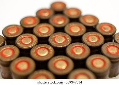 Full box of 7.65 cartridges.