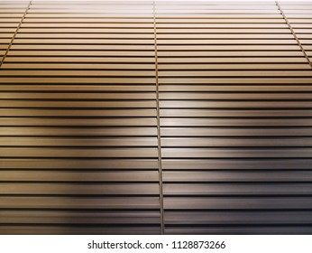 Full Frame Background of Louver for Air Ventilation