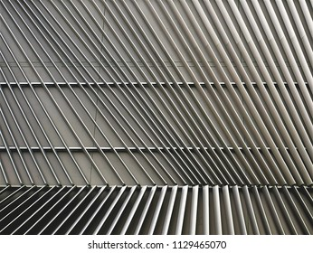 Full Frame Background of Striped Planks Building Exterior
