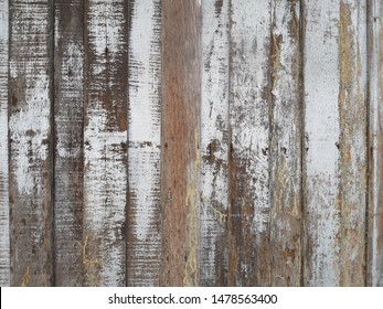 full frame image of aged house wooden boards for background use