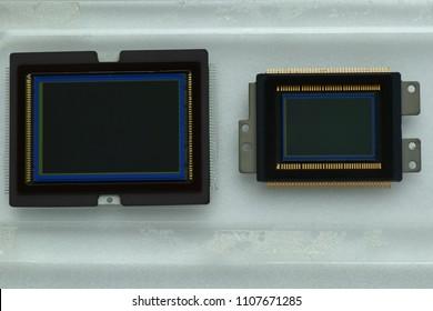 Full - Frame sensor VS APS-C sensor , image sensor on camera.