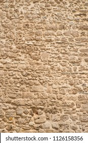 Full frame take of an old masonry wall