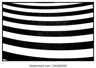 Full frame take of a wavy pattern