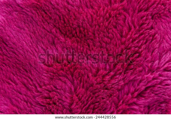 Full Frame Wallpaper Pink Furry Fabric Stock Photo Edit Now