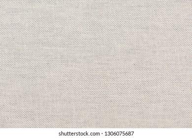 Full frame white canvas or linen texture