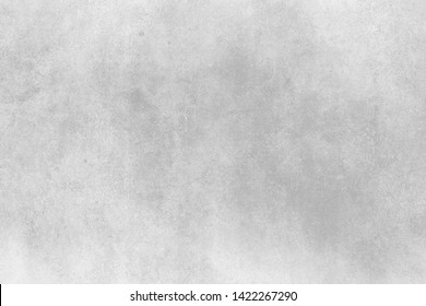 full frame white grunge concrete textured backdrop background