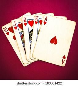 a full house of poker