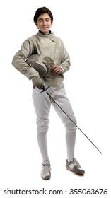 Full Length Fencer