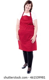 Full length portrait of an experienced female chef
